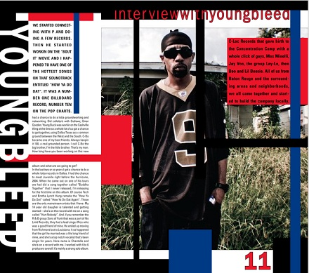 Young Bleed Inside Murder Dog Magazine