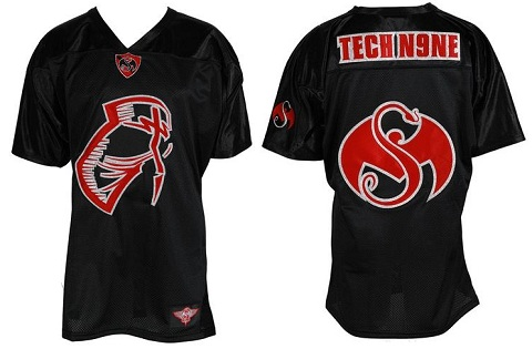 Tech N9ne - Black Facepaint Men's Jersey