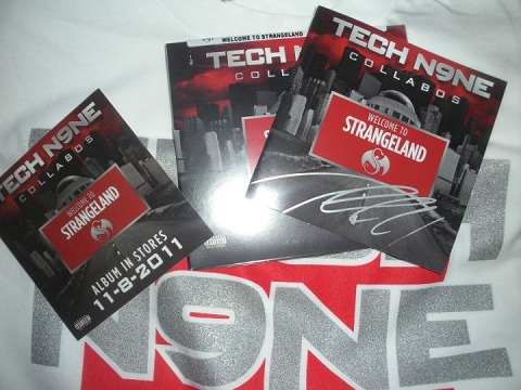 Full View Of Tech N9ne Welcome To Strangeland Pre-Order
