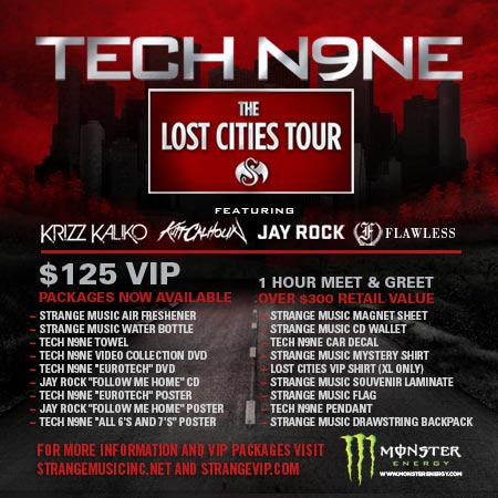 Strange Music - The Lost Cities Tour