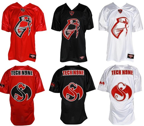 Tech N9ne Facepaint Jersey