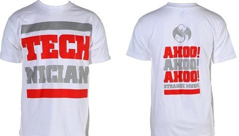 Tech N9ne - Technician White T-Shirt