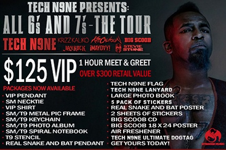 Tech N9ne - All 6's And 7's Tour