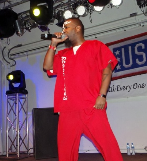Tech N9ne On Stage In Bahrain