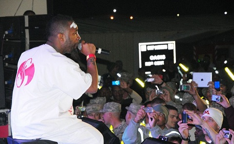 Tech N9ne Performing In Kuwait
