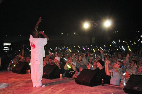 Tech N9ne On Stage In Kuwait