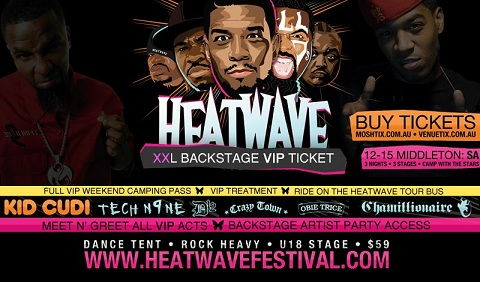 Heatwave - Middleton, SA- Featuring Tech N9ne