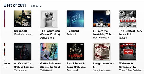 iTunes Best of 2011 Tech N9ne