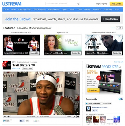 Prozak Featured On UStream