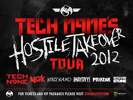 Tech N9ne - Hostile Takeover 2012