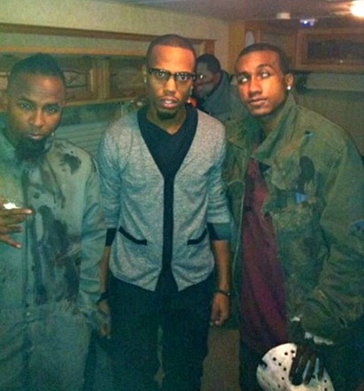 "Tech N9ne, B.o.B, And Hopsin On The Set Of ""Am I A Psycho?"""