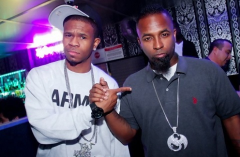 Tech N9ne And Chamillionaire At HeatWave