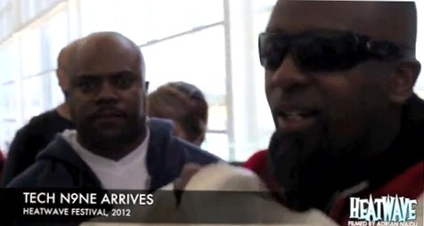 Tech N9ne Arrives In Australia For HeatWave