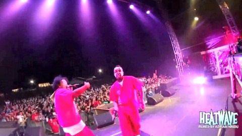 Tech N9ne And Krizz Kaliko Live In Middleton, SA