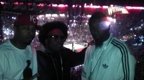 Tech N9ne, Krizz Kaliko, And Makzilla Visit WWE RAW