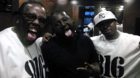 Krizz Kaliko, Makzilla,  And T-Pain Link Up