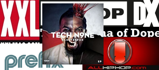 "Tech N9ne's ""Blur"" On The Web"