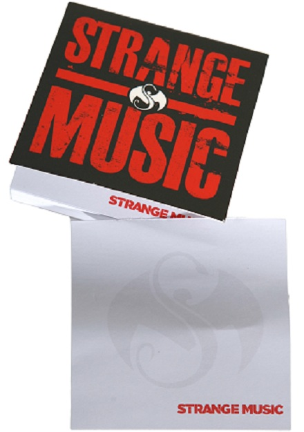 Strange Music VIP Gear: Strange Music Sticky Notes