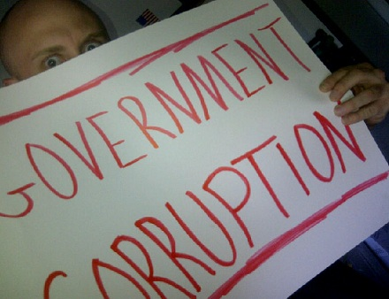 "Government Corruption Fan Sign For Prozak's ""Million Miles Away"""
