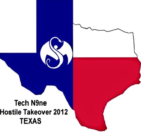 Tech N9ne In Texas - 'Hostile Takeover 2012'
