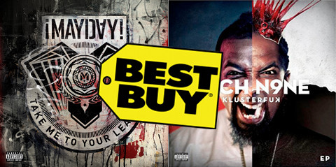 "Tech N9ne's ""KLUSTERFUK"" EP Comes With ¡MAYDAY!'s ""Take Me To Your Leader"" At Best Buy"