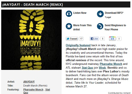 ¡MAYDAY! - DEATH MARCH (REMIX)