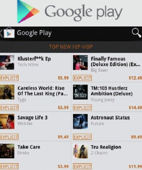 """KLUSTERFUK"" On Google Play"