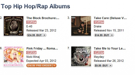 """Take Me To Your Leader"" Climbs iTunes Charts"