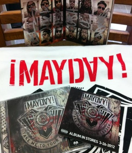 "Mayday ""Take Me To Your Leader"" Pre-Order"
