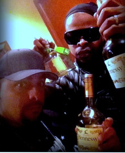 Prozak And Kutt Calhoun At Strange Music HQ