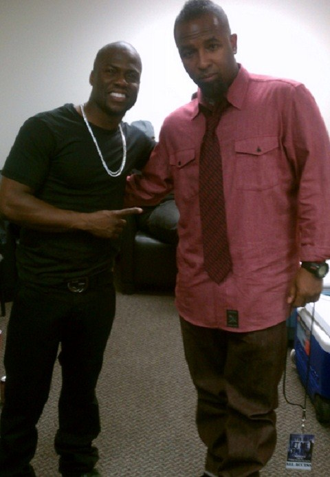 Tech N9ne Links Up With Kevin Hart