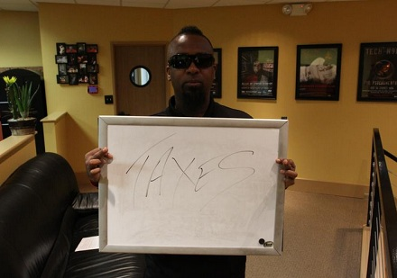 "Tech N9ne ""Million Miles Away"" Sign"