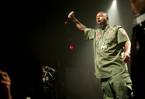 Tech N9ne At XXL Showcase with Hopsin