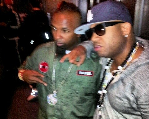 Tech N9ne And Red Cafe In NYC