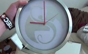 Strange Music Wall Clock