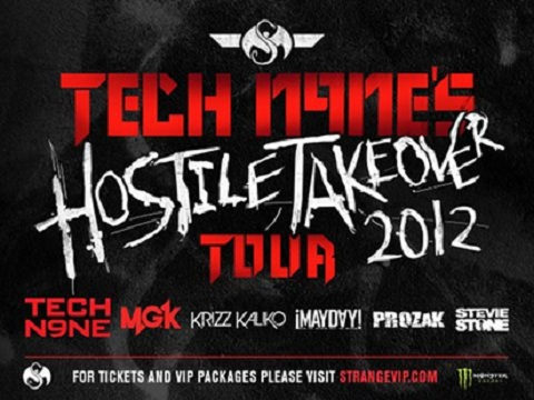"Tech N9ne's ""Hostile Takeover 2012"" Tour"