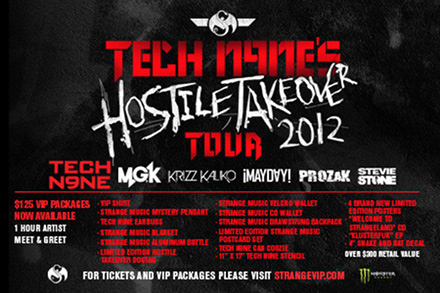 Hostile Takeover 2012 Tour