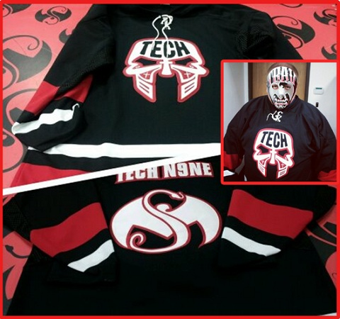 Strange Music Releases New Tech N9ne Hockey Jersey