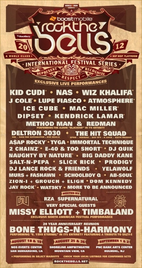 Rock The Bells 2012 Featuring Jay Rock