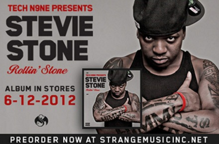 Tech N9ne Presents Stevie Stone - Rollin' Stone