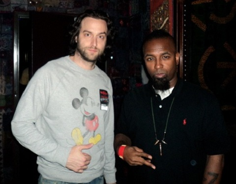 Chris D'Elia Talks Meeting Tech N9ne