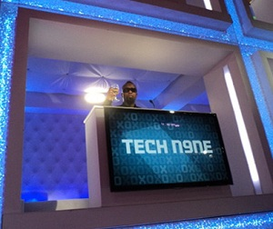 Tech On MTV2 Hip Hop Squares
