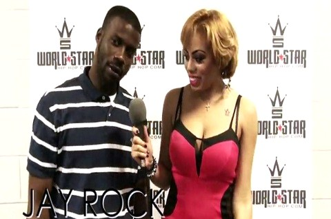 WorldStarHipHop With Jay Rock At Hot 97 Summer Jam