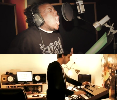 "Krizz Kaliko - The Making Of ""Kickin' & Screamin'"""