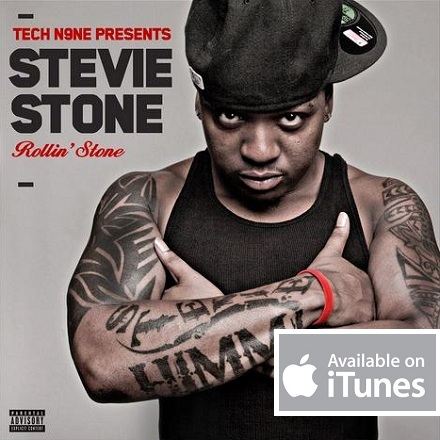 Tech N9ne Presents Stevie Stone - Rollin' Stone Now On iTunes