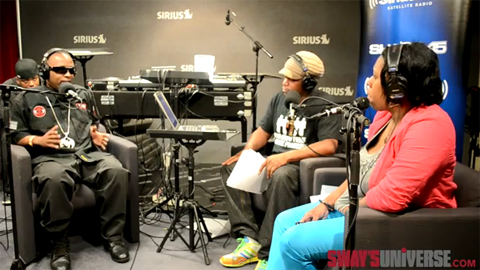 Tech N9ne Talks Eminem On Sway In The Morning