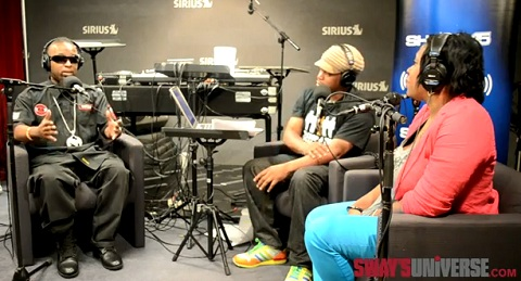 "Tech N9ne Discusses ""The Art Of Rap"" On Sway In The Morning"