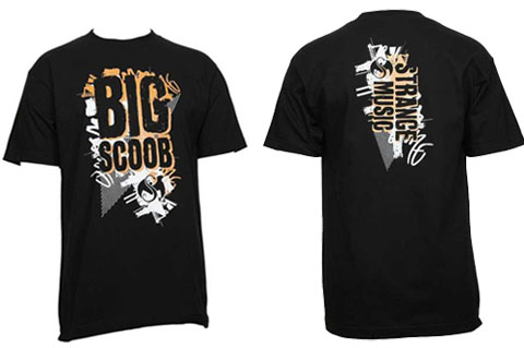 Black Big Block T-Shirt