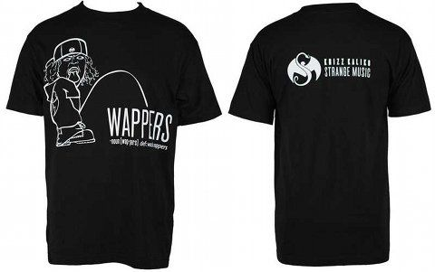 Krizz Kaliko - Black T-Shirt Wappers