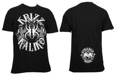 Krizz Kaliko - Black Tattoo T-Shirt